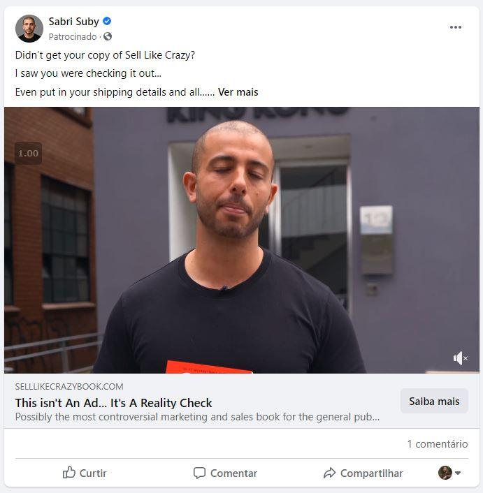 Anúncio Faceads e Instagram Ads
